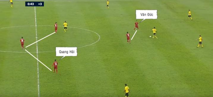 Đức Chinh, Quang Hải và trò chơi chuyển trạng thái - 6