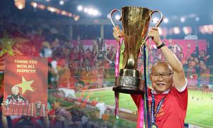 Thầy Park và năm 2018 bằng vàng ròng với bóng đá Việt Nam