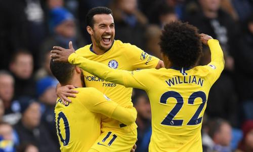 Hazard ghi bàn và kiến tạo, Chelsea củng cố vị trí thứ tư