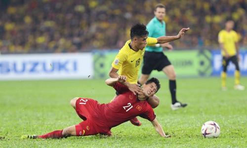 Đình Trọng được xem là cầu thủ khó thay thế trong đội hình tuyển Việt Nam lúc này. Ảnh: Đức Đồng.