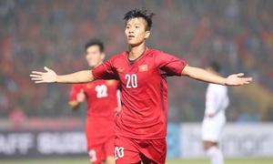 Văn Đức dẫn đầu cuộc đua tranh giải Bàn thắng đẹp AFF Cup