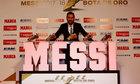 Messi chưa từng nghĩ có ngày đoạt năm Giày Vàng
