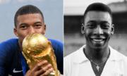 Pele muốn Mbappe kế tục vị trí trong lịch sử bóng đá