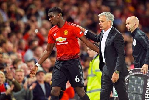 Mourinho đã không còn niềm tin vào Pogba trong những ngày cuối ở Man Utd. Ảnh:EPA.