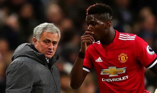 Mối quan hệ căng thẳng với Pogba là một phần nguyên nhân khiến Mourinho phải ra đi.