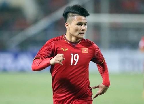 Quang Hải nhận sự quan tâm rất lớn trước thềm Asian Cup 2019. Ảnh: AFC.