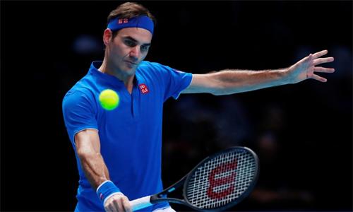 Federer có thể trở lại ở Roland Garros năm sau. Ảnh: Reuters.