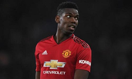 Pogba bị đồn mâu thuẫn với Mourinho trước khi HLV này bị sa thải. Ảnh: Reuters.