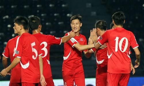 Triều Tiên từng giành quyền dự World Cup 2010. Ảnh: AFC.