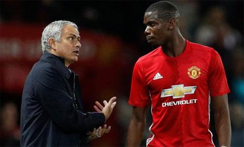 Pogba bị xem là người dẫn đầu nhóm cầu thủ phản thầy. Ảnh: Reuters