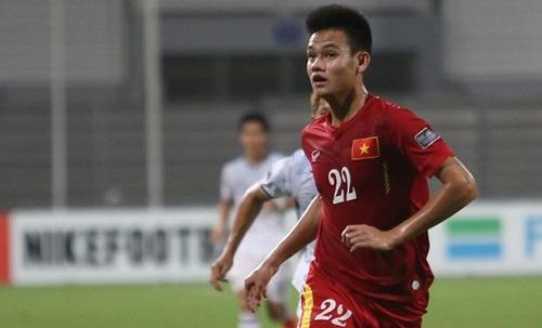Tấn Tài từng tham dự World Cup U20 cùng Quang Hải và Văn Hậu. Ảnh: AFF.