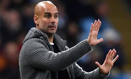 Guardiola cho rằng Man City trở thành một tập thể xuất sắc hơn trong mùa này. Ảnh: AFP.