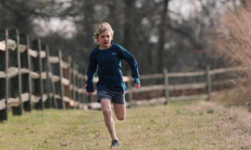 Chạy bộ trở thành niềm đam mê, giúp Nate có thêm động lực và sức khỏe để chiến đấu với căn bệnh ung thư máu hiểm nghèo.