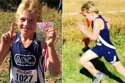 Chức vô địch lứa tuổi U8 tại giải CCCNYC giúp Nate có thêm động lực và quyết tâm để chinh phục đường chạy full marathon sau đó.