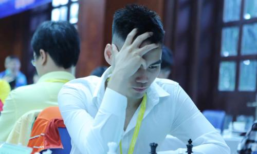Tuấn Minh đặt mục tiêu Elo 2.600 trong năm 2019. Ảnh: Xuân Bình.