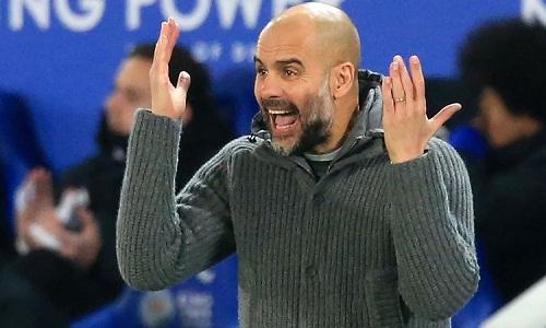 Guardiola muốn học trò quên Liverpool và tập trung cho nhiệm vụ của bản thân. Ảnh: Reuters.