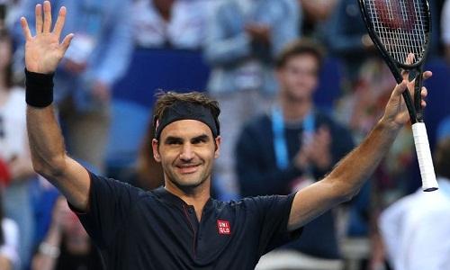 Federer đang trong quá trình chuẩn bị cho Grand Slam đầu tiên của năm 2019 - Australia Mở rộng. Ảnh: AFP.