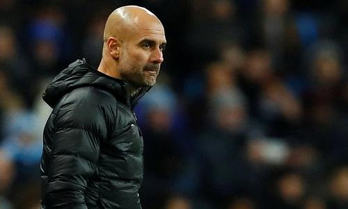 Guardiola cho rằng Man City phải đánh bại Liverpool để nuôi hy vọng vô địch. Ảnh: Reuters.