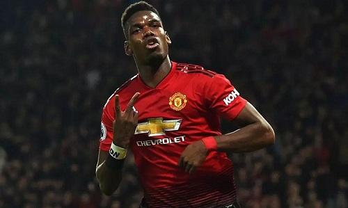Pogba đạt phong độ rất cao từ sau sự ra đi của Mourinho. Ảnh: AFP.