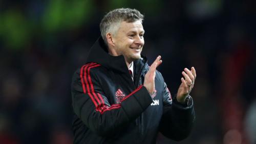 Solskjaer có thành công bước đầu với Man Utd. Ảnh:Reuters.