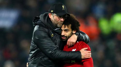 Salah là cầu thủ quý giá của Klopp trên con đường chinh phục chức vô địch Ngoại hạng Anh. Ảnh:AFP.