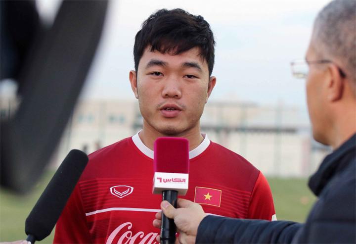Xuân Trường đặt mục tiêu sẽ thi đấu nhiều trậntại Asian Cup để giúp đội vượt qua vòng bảng. Ảnh: Đoàn Huynh.