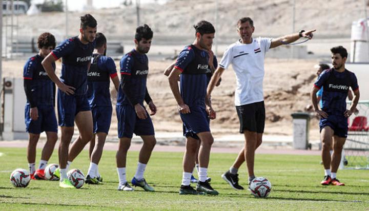 Iraq giành chiến thắng 1-0 trước Palestine trong trận giao hữu cuối cùng trước khi đối đầu Việt Nam vào ngày 8/1.