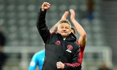 Solskjaer khởi đầu như mơ với Man Utd bằng bốn trận thắng liên tiếp. Ảnh: Reuters.