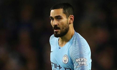 Gundogan cho rằng Man City sẽ trở lại cuộc đua vô địch một cách mạnh mẽ nếu đánh bại Liverpool. Ảnh: Reuters.
