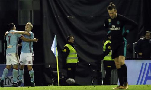 Bale và đồng đội có thói quen khởi đầu ì ạch sau kỳ nghỉ Giáng Sinh. Ảnh: Reuters