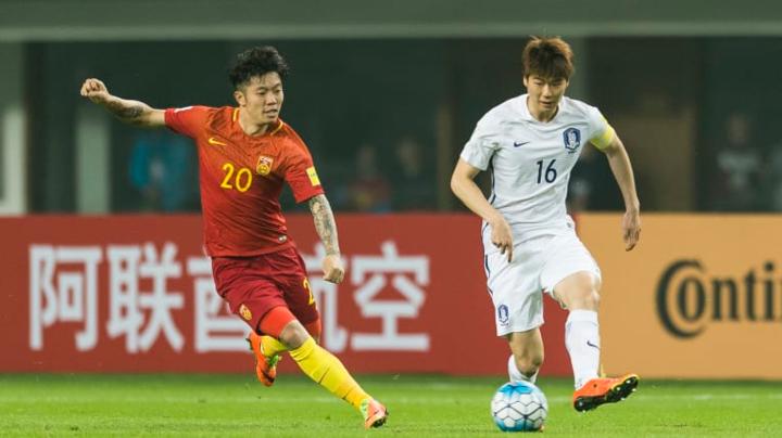 Trung Quốc và Hàn Quốc đều đặt nhiều tham vọng ở Asian Cup 2019. Ảnh:AFC.