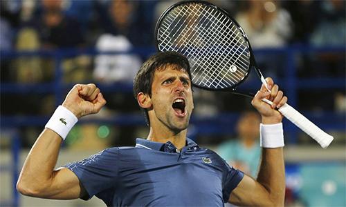 Djokovic từng nghỉ thi đấu dài ngày như Federer, Nadal hay Murray, nhưng vẫn trở lại ấn tượng và giữ thế độc tôn trong làng tennis. Ảnh: AP.