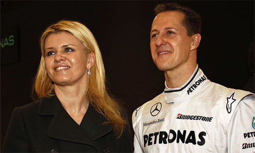 Corinna Schumacher vốn kín tiếng với dư luận về sức khỏe của chồng trong nhiều năm qua. Ảnh: RSVP.