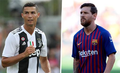 Ronaldo và Messi duy trì phong độ cao trong suốt 10 năm qua.