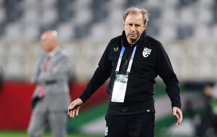 HLV Rajevac mất việc chỉ sau một trận tại Asian Cup. Ảnh: AP.