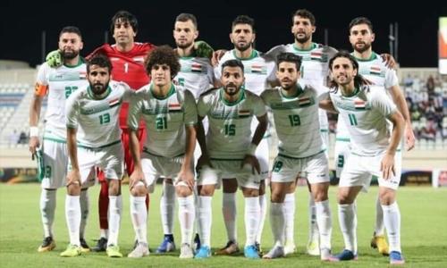 Đội hình ra sân của Iraq ở trận giao hữu gần nhất gặp Trung Quốc. Ảnh: Tarafdari.
