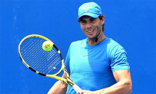 Nadal đã sẵn sàng cho Australia Mở rộng, giải đấu mà anh vô địch năm 2009. Ảnh: Sky.