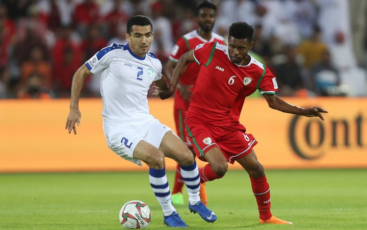 Oman thi đấu đầynỗ lực nhưng trắng tay ở trận ra quân tại bảng F. Ảnh: Asian Cup.