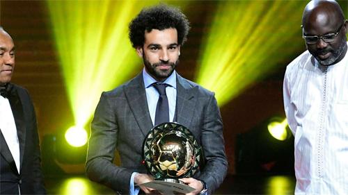 Salah đăng quang thuyết phục năm 2018. Ảnh: Reuters