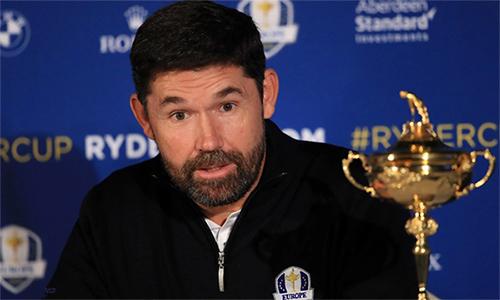 Harrington có sự nghiệp lẫy lừng ở Ryder Cup với thành tích 9 thắng, 13 hòa và chỉ thua ba trận trong sáu lần dự giải. Ảnh: Golfweek.