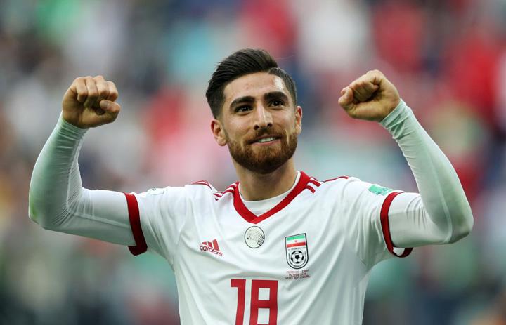 Tiền vệAlireza Jahanbakhsh được đánh giá là một trong những cầu thủ đáng chờ đợi nhất tại Asian Cup 2019. Ảnh: AFC