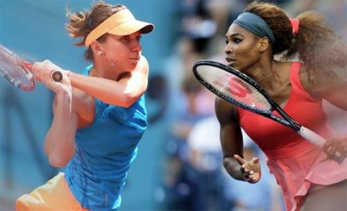 Halep và Serena có thể sẽ chạm trán ở tứ kết.