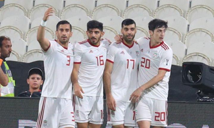 Iran tự tin sau khi đại thắng Yemen ở trận ra quân. Ảnh: FarsNews.