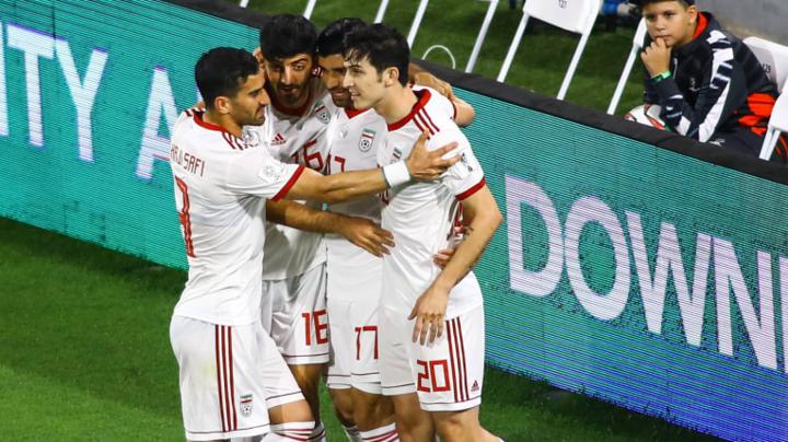 Iran chưa cho thấy điểm yếu đáng kểở Asian Cup 2019. Ảnh: AFC.