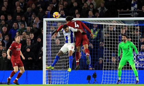 Liverpool trải qua trận đấu khó khăn, nhưng vẫn giành điểm số tối đa. Ảnh:EPL.