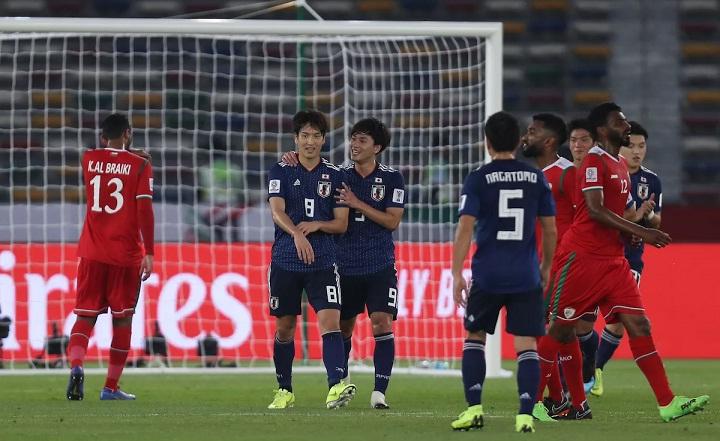 Haraguchi ghi bàn duy nhất trên chấm phạt đền, giúp Nhật Bản giành chiến thắng thứ hai. Ảnh: Fox.
