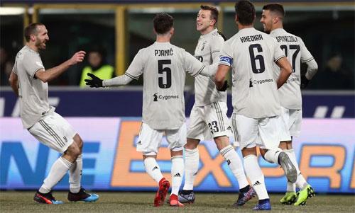 Juventus có chiều sâu lực lượng bậc nhất Italy. Ảnh: Reuters