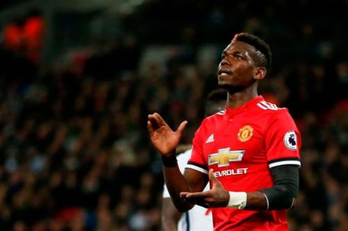 Pogba chứng tỏ giá trị cầu thủ đắt giá nhất của Man Utd. Ảnh:Reuters.