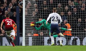 De Gea 'lên đồng' khi Man Utd hạ Tottenham