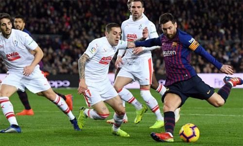 La Liga không phải là giải đấu dễ ghi bàn đều đặn với một cầu thủ, cho đến khi Messi xuất hiện. Ảnh: Reuters
